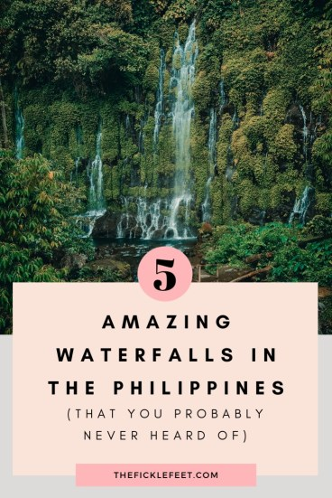5 Amazing Waterfalls in the Philippines (that you probably never heard of) 1