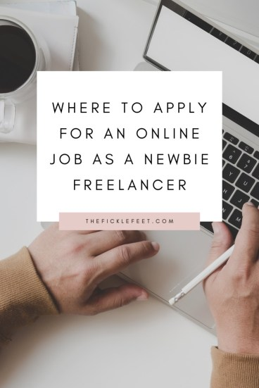FREE PLATFORMS to Apply for an Online Job as a Newbie Freelancer 1