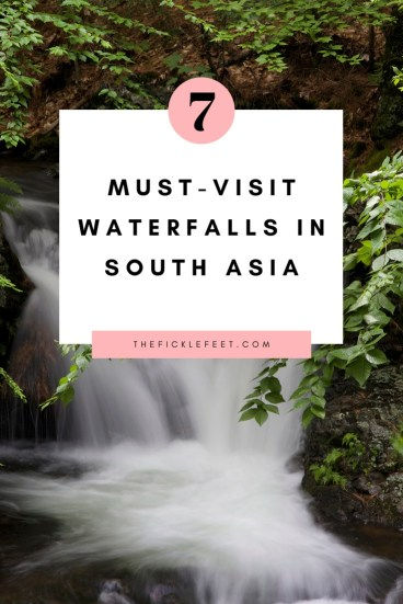 waterfalls in South Asia