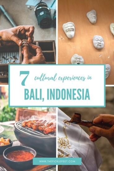 7 Unusual CULTURAL EXPERIENCE ACTIVITIES TO TRY in Bali, Indonesia 1