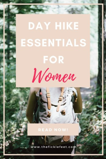 Day Hike Essentials for Women 1