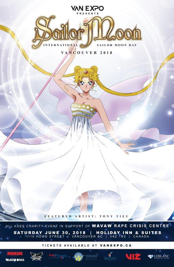 Sailor Moon Van Expo