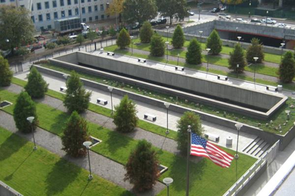 US Tax Court Building Plaza. Courtesy of GSA.