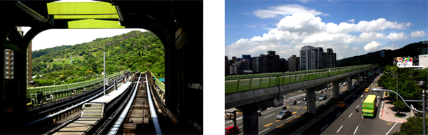 Regional Rail in Taipei, Taiwan