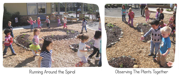 Children interacting with the new outdoor play spaceimage: Lisa Ramos
