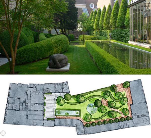Private Garden, Bruges, Belgium 2001-2002image: Wirtz International Landscape Architects