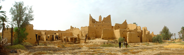 Atturaif, a historic settlement northwest of Riyadh and site of the first Saudi capital  Image: Ayers Saint Gross Inc.