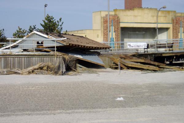 The Jones Beach boardwalk, November 2012 image: Alexandra Hay