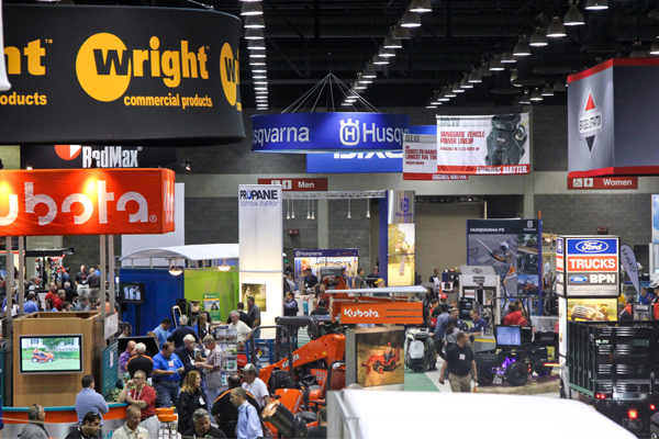 Co-location with GIE+EXPO and Hardscape North America provides PLANET's GIC attendees with access to cutting-edge technology and the latest equipment. image: PLANET Green Industry Conference
