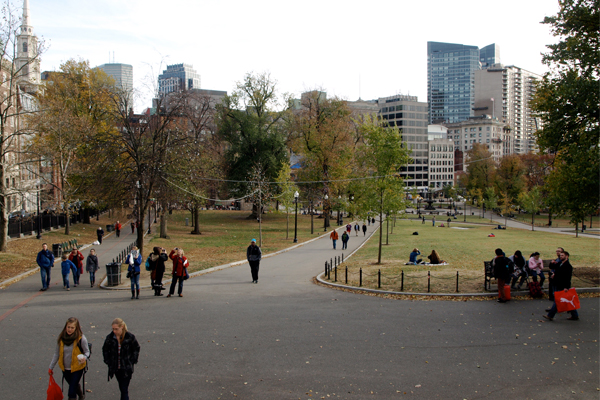 Boston Common image: Alexandra Hay