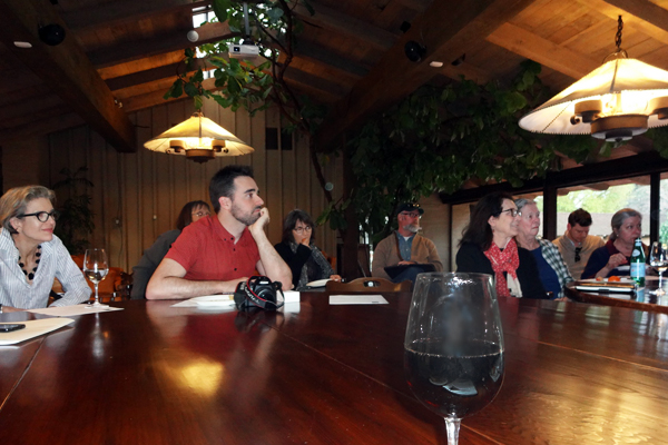 HALS meeting after the tour image: Chris Pattillo