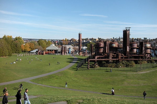 Seattle's Gas Works Park image: Dave Risney via Flickr