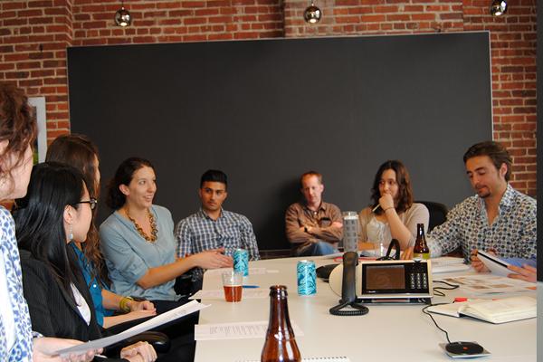 Group discussion image: joni m. palmer