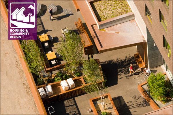 Bud Clark Commons, Portland, OR - ASLA 2013 Professional Residential Design Honor Award Winner - Mayer/Reed image: C. Bruce Forster