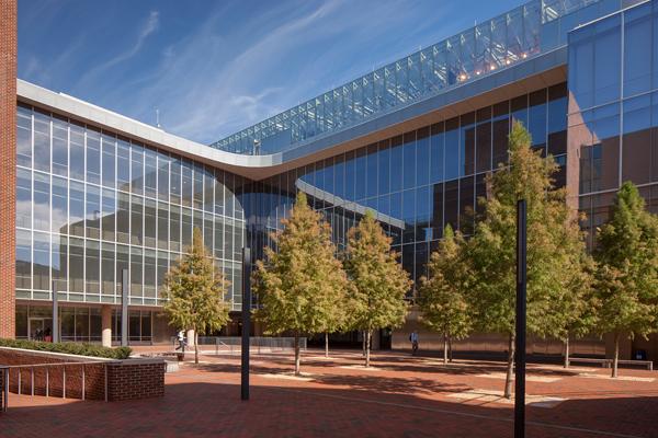 University of North Carolina, Genome Sciences courtyard image: courtesy of Hoerr Schaudt