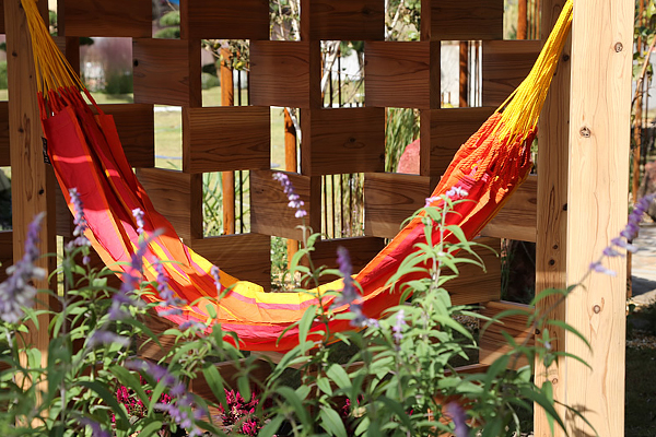 """""""Mexican Patio"""" by Desiree Martinez, former president of IFLA image: Huis Ten Bosch"""