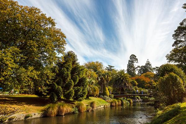 Christchurch Botanic Gardens image: Aidan via Flickr