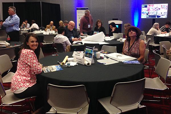 Plan Review Workshop with Shavawn Coleman, ASLA and Vicki Estrada, FASLA image: shawn balon