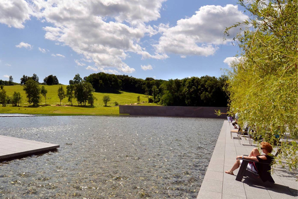 Art and Infrastructure: Community, Culture, and a Collection in the Berkshires, ASLA 2015 Professional General Design Honor Award Winner image: Steward Cairns