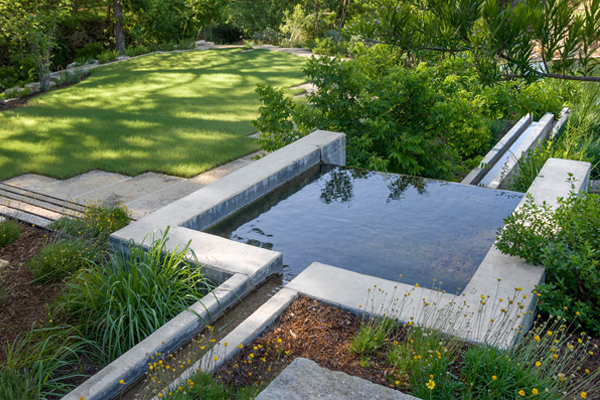 Mill Creek Ranch, ASLA 2015 Professional Residential Design Honor Award Winner image: Bill Timmerman