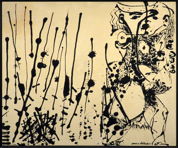 Figure 2: Number 7, 1951, by Jackson Pollock image: David Hopman
