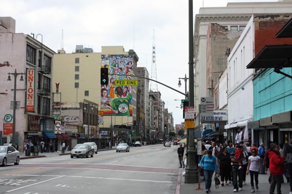 Figure.6 Historic District in Downtown Los Angeles, CA image: Taner R. Ozdil, 2011
