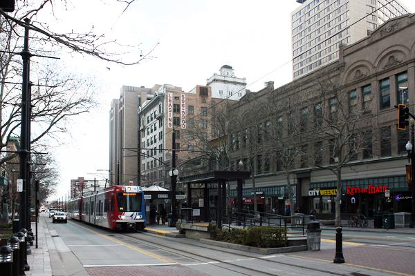Figure.8 Downtown Salt Lake City, UT image: Taner R. Ozdil, 2016