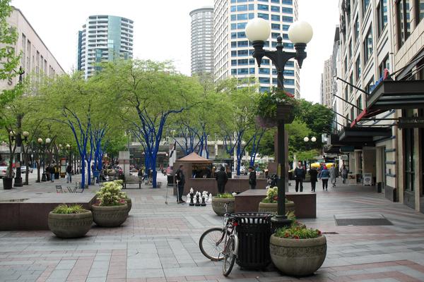 Figure.4 Downtown Seattle, WA image: Taner R. Ozdil, 2012