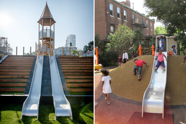 Joe DiMaggio Park, San Francisco image: Miracle Play Systems
