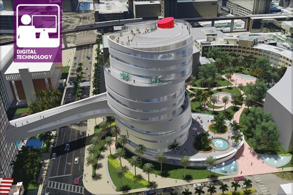 University of Miami: Medical Campus using Rhino, Sketchup and Lumion image: Ryan Deane, ASLA, Julija Singer, AIA – The SLAM Collaborative