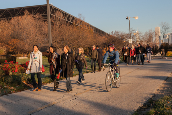 The 2015 WILA Walk in Chicago image: Event Photography of North America Corporation (EPNAC)