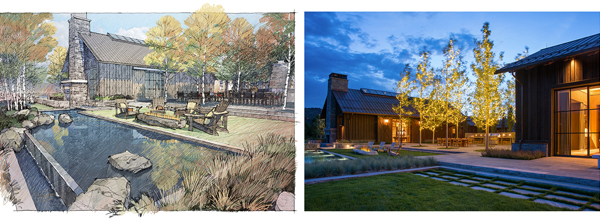 DBX Ranch: A Transformation Brings Forth a New Livable Landscape, 2016 Professional ASLA Award of Excellence, Residential Design Category image: D.A. Horchner / Design Workshop, Inc.