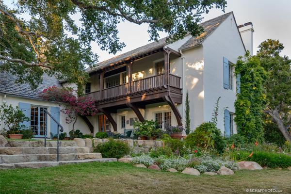 Harold S. Gladwin Residence (Jon B. and Lillian Lovelace Residence), Montecito, CA (HALS CA-129) / image: Stephen Schafer © 2016 schafphoto.com