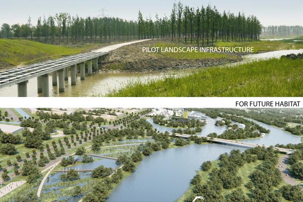 ASLA 2012 Professional Analysis and Planning Honor Award. Wusong Riverfront: Landscape Infrastructure Pilot Project, Kunshan City, Jiangsu Province, China. SWA Group. / image: Hui-Li Lee, Chih-Wei Chang, and Mandana Parvinian