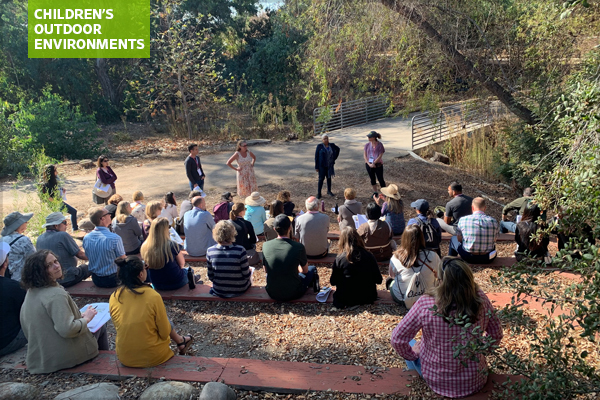 The Living Laboratories: Exploring San Diego's Nature-Based Outdoor Learning field session during the 2019 ASLA Conference on Landscape Architecture.