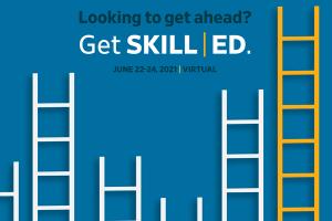 SKILL | ED virtual practice management program graphic