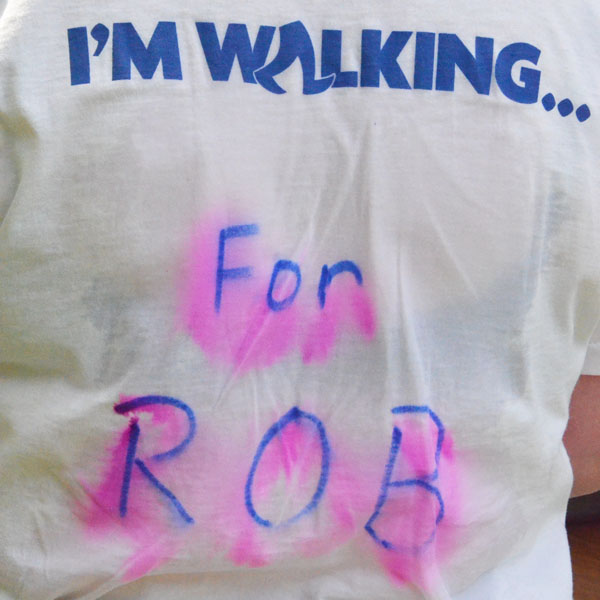 walking for rob