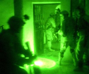 """""""Night vision"""" by U.S. Army in Iraq photo by Spc. Lee Davis -"""