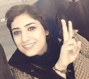 Atena Farghadani. Political Prisoner.