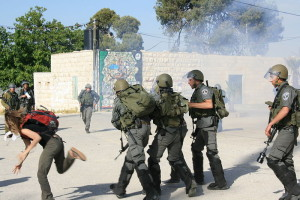 File photo: Israeli border police. Image source: טל קינג