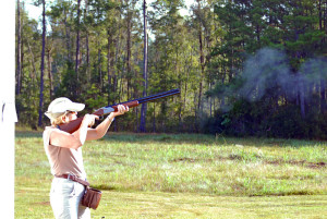 """""""US Army 51487 Fort Stewart Skeet Shoot"""" by Photo by Randy Murray, Fort Stewart Public Affairs - United States Army."""