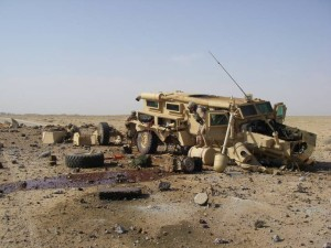 The mighty MRAP. Image source: DOD