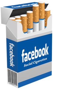 """""""Facebook Cigarettes poster by 2wenty"""" by 2wenty"""
