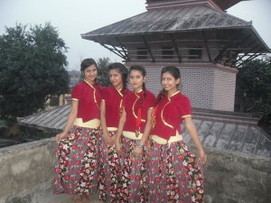 Four girls from Nepal. Image source: Pratikshya,pk