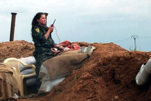 """YPG soldier during ISIL fight"" by Claus Weinberg -"