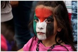 Massive protest against Israel attack to Gaza in Berlin. Free Palestine.  Image Source: Montecruz Foto