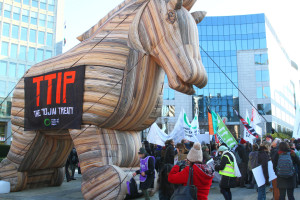 TTIP Trojan Horse Image Source: greensefa, flickr, creative commons.