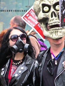 Taken at the March for Alternative on Saturday 26 March 2011. Image Source: Garry Knight, Flickr, Creative Commons