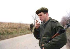 "Image Source: ""Croatian War 1991 foot patrol"" by Peter Denton - Flickr: Croatian War 1991: foot patrol."