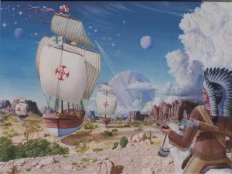 The Trials of Christopher Columbus by Dreamscape-Weaver (Creative Commons)